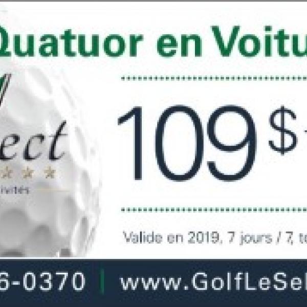 Quatuor à 109$ 2019